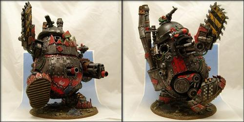Incredible Mr Warhammer 40K Potato Head