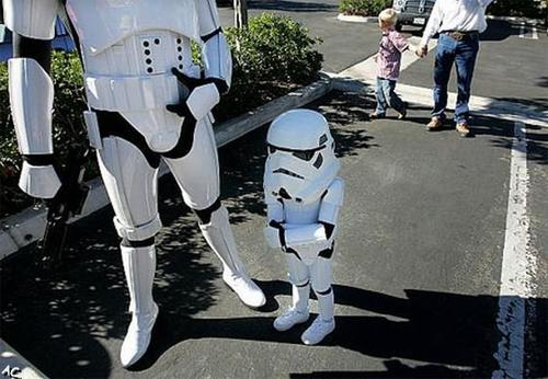 Son of Stormtrooper Not in Galactic Empire