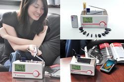 Multifunctional Solar Powered Portable Speaker Charger