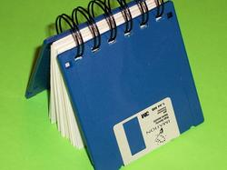 Geek Gear Floppy Disk Notebook