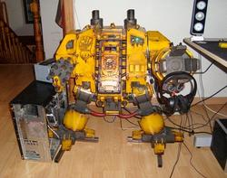 Computer Case Mod Inspired by Dreadnought in Warhammer 40K
