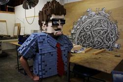 Pixelated 8-bit Costume