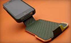Vaja iVolution Stripes iPhone 4 Leather Case