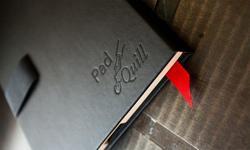 Pad&Quill Black Book iPad Case