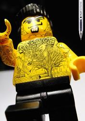 Tattoo LEGO Minifigures