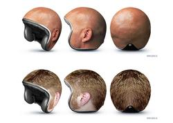 Creative Motorcycle Helmets by GOOD