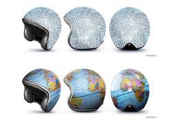 Creative Motorcycle Helmets by GOOD