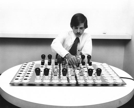 Brent Blake's Electric Chess Set