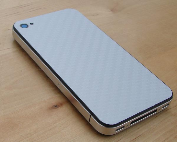 Carbon Fiber iPhone 4 Protective Cover