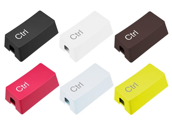 Ctrl Key Shaped Cable Storage Box