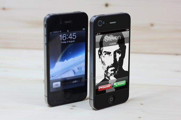 Custom Amazing Calling iPhone 4 Decal Series