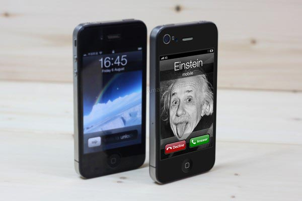 Custom Amazing Calling iPhone 4 Decal Series