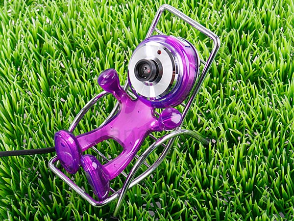 Cute Happy-Kid USB Webcam