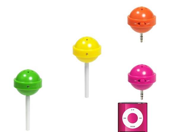 Cute Monodo Lollipop Portable Speaker