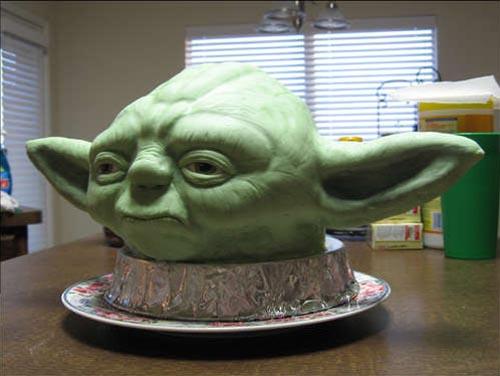 Darth Vader's Favorite Yoda Cake