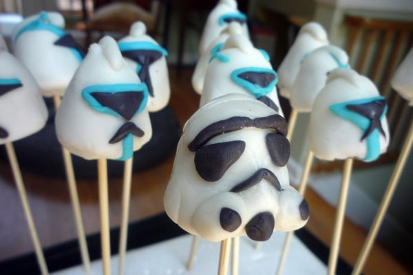 Delicious Stormtrooper and Clone Trooper Helmets