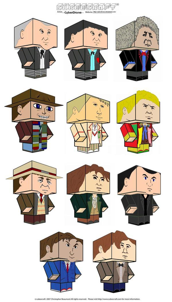 Doctor Who Papercrafts
