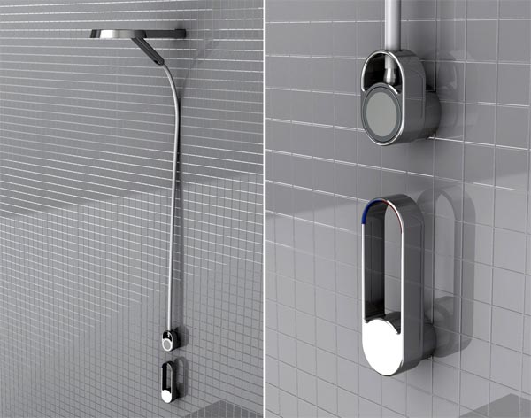 Dual Shower Head for More Comfortable Shower