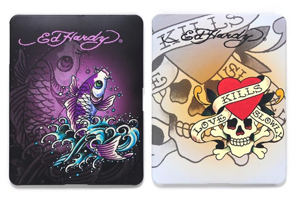 Ed Hardy iPad Cases Presenting Unique Tattoo Patterns