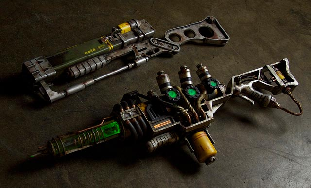 Fallout 3 A3-21 Plasma Rifle Replica