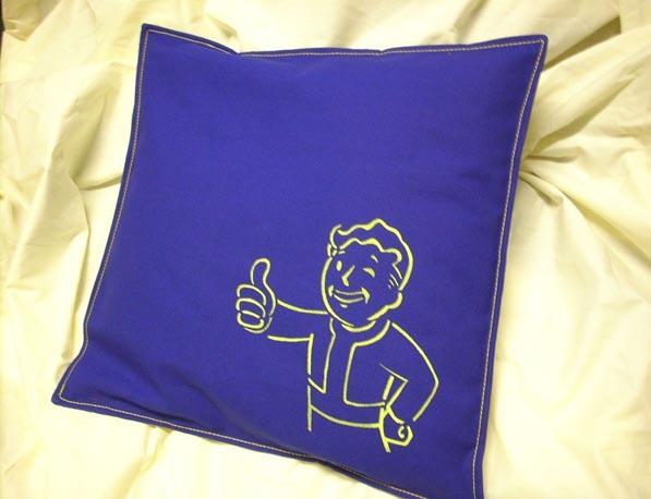Fallout Pipboy Canvas Pillowcase