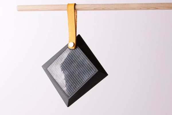 Foldable Solar Powered Portable Lamp by Jesper Jonsson