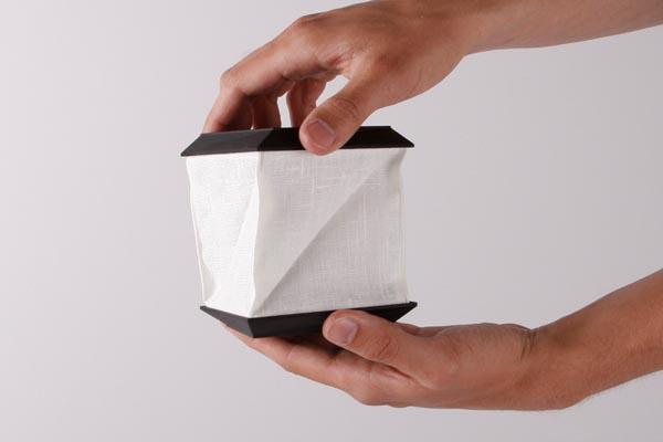 Foldable Solar Portable Lamp By Jesper Jonsson Gadgetsin