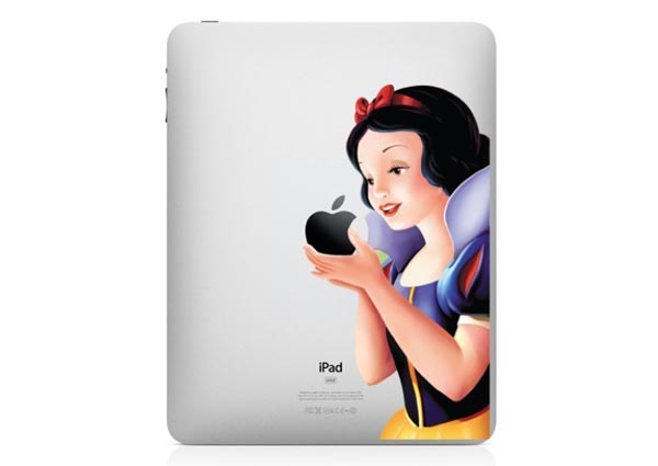 Four Snow White iPad Decals for Your Fairy Tale Dream