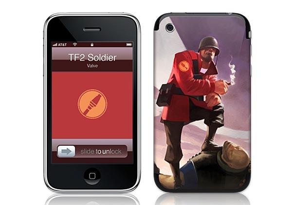 GelaSkins Team Fortress 2 iPhone Skins