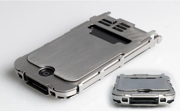 Handmade Metal iPhone 4 Case by Ryan Glasgow