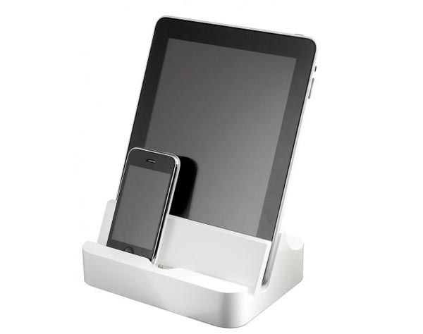 ipadock docking station for ipad iphone and ipod gadgetsin. Black Bedroom Furniture Sets. Home Design Ideas