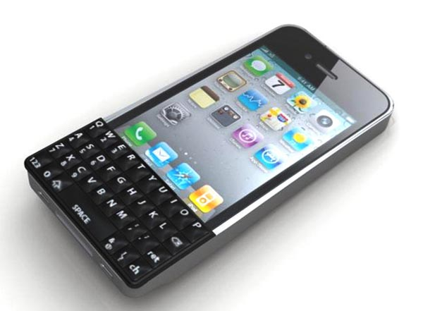 iPhone 4 Wrap with QWERTY Keyboard