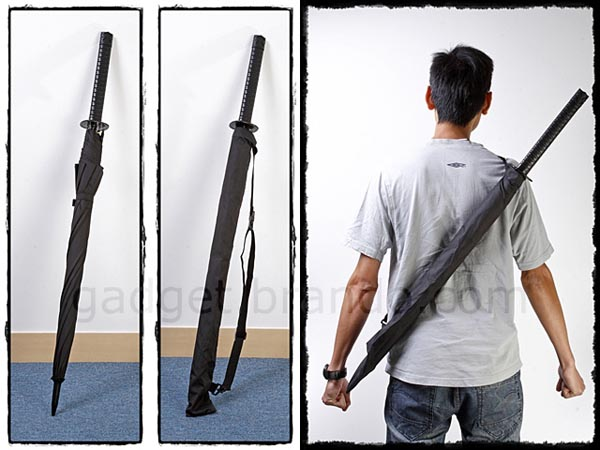 Japanese Styled Samurai Sword Umbrella
