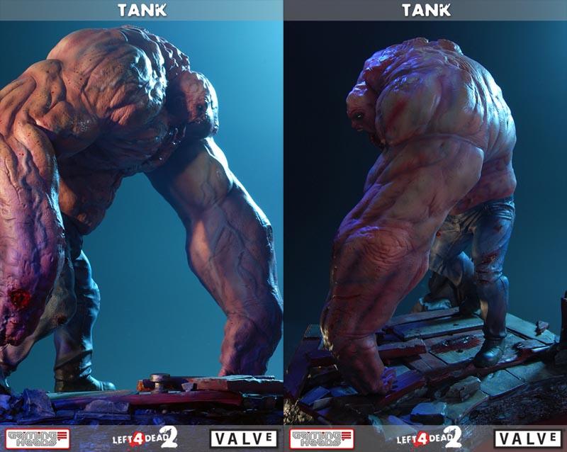 Left 4 Dead 2 Tank Collectible Figure