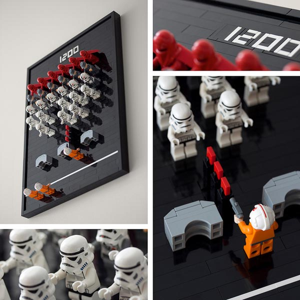 LEGO Star Wars Minifigures Space Invaders