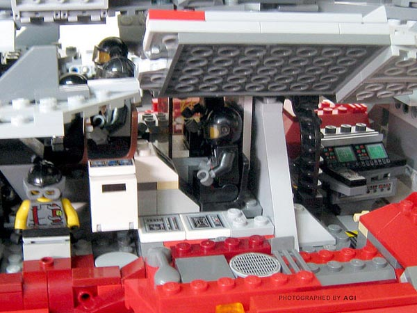 LEGO StarCraft 2 Terran Battlecruiser