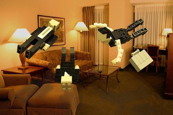 LEGO Version Inception Movie Scenes