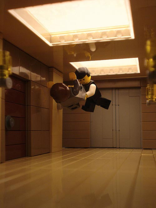 Lego Version Inception Movie Scenes Gadgetsin