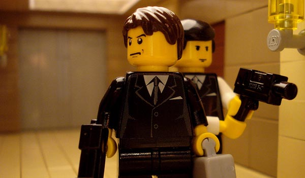lego version inception movie scenes