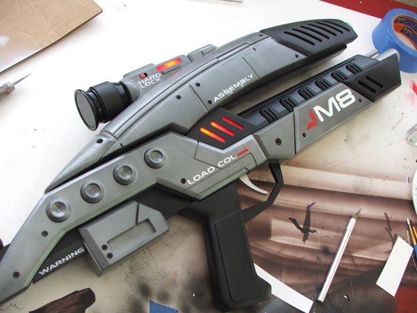 Mass Effect 2 M8 Avenger Assault Rifle Replica