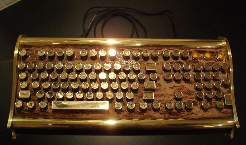 Marquis Victorian Steampunk Keyboard Gadgetsin