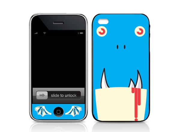 Mimobot iPhone Skins