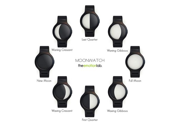 Moonwatch Inspired by Moon Cycle