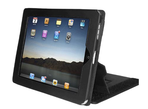 Multipurpose ZooGue Smart iPad Leather Case