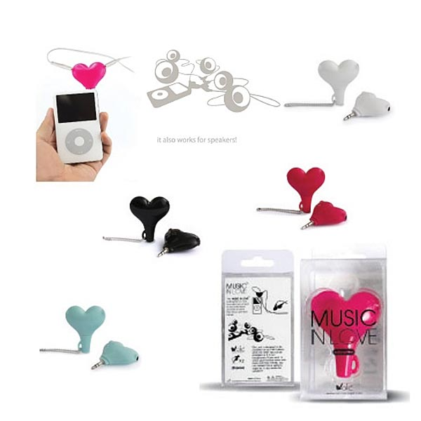 Music in Love Audio Splitter: Sharing Music with Your Lover