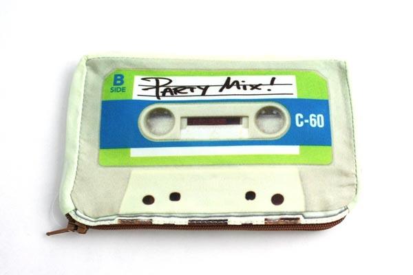 Retro Cassette Tape Pouch