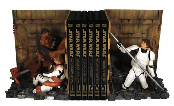 Star Wars Bookends Showing us the Memorable Scene