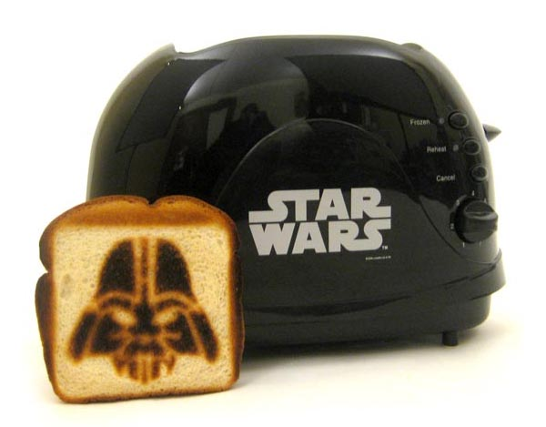 Star Wars Darth Vader Black Toaster