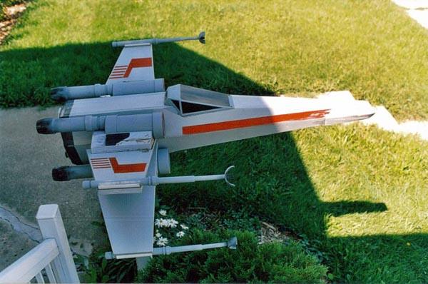 Star Wars X-Wing Mailbox by Craig Smith