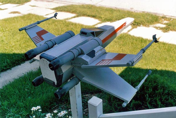 Star Wars X-Wing Mailbox by Craig Smith